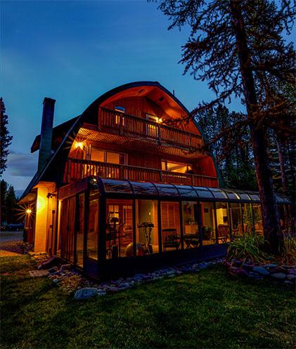 Moss Mountain Inn in Columbia Falls, MT - Getting to the